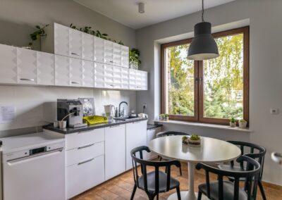 Kuchnia - przestrzenie coworkingowe Tulubie